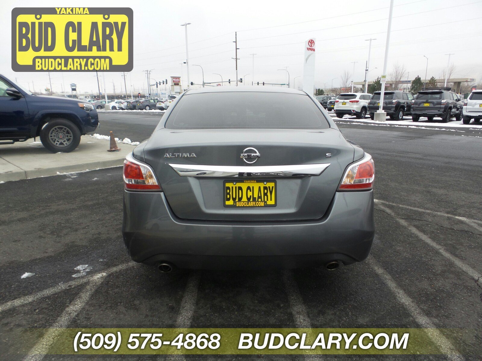 Pre-Owned 2015 Nissan Altima 2.5