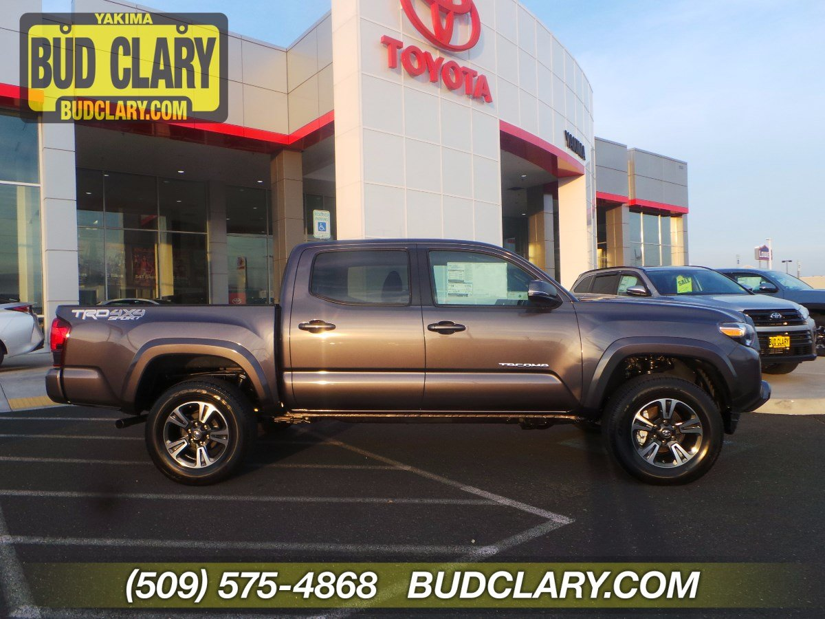 New 2019 Toyota Tacoma TRD Sport Double Cab 5' Bed V6 MT