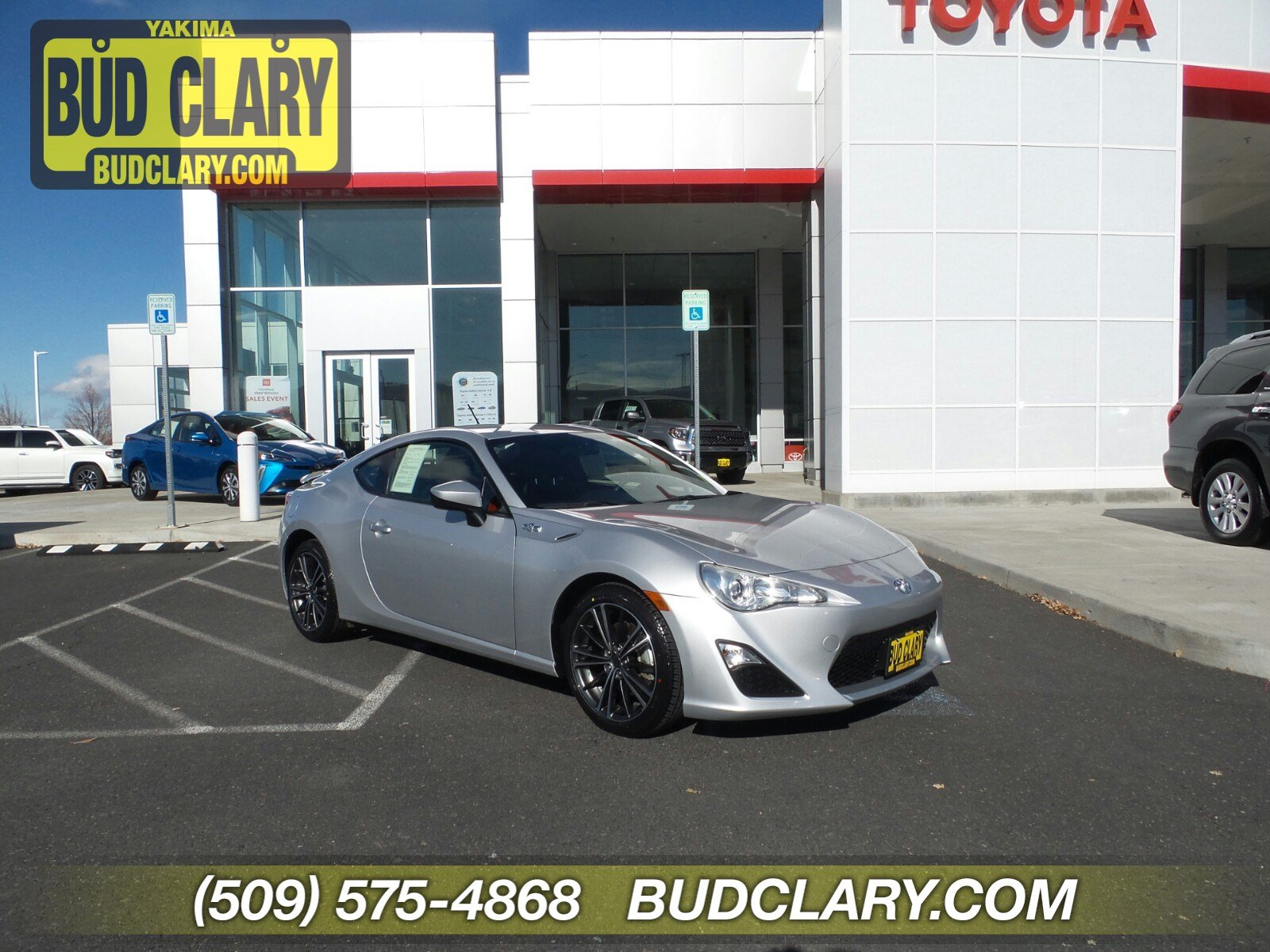 Certified Pre-Owned 2013 Scion FR-S Base