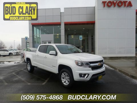 Pre-Owned 2017 Chevrolet Colorado 4WD LT 4WD Crew Cab Pickup