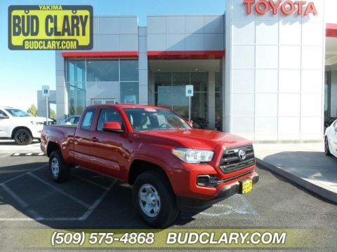 Certified Pre-Owned 2016 Toyota Tacoma 4WD Access Cab I4 AT SR
