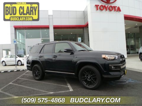 New 2019 Toyota 4Runner Limited Nightshade 4WD Sport Utility